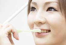 2. 歯ブラシがしやすくなるため、虫歯や歯周病に対し、抵抗力のある歯になれる